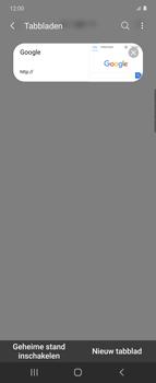 Samsung Galaxy Z Flip - internet - hoe te internetten - stap 17