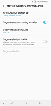 Samsung Galaxy A9 (2018) - internet - mobiele data managen - stap 7