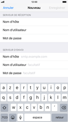 Apple iPhone 6s iOS 11 - E-mail - configuration manuelle - Étape 13