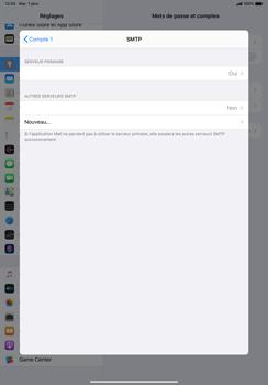 Apple iPad Pro 11 (2018) - iPadOS 13 - E-mail - configuration manuelle - Étape 17