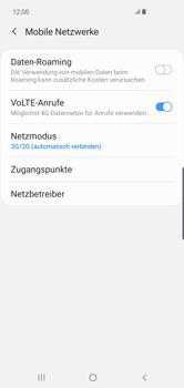 Samsung Galaxy S10 Plus - Netzwerk - So aktivieren Sie eine 4G-Verbindung - Schritt 6