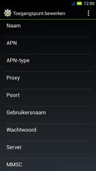 Acer Liquid E3 - MMS - Handmatig instellen - Stap 9