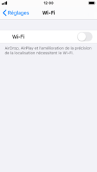 Apple iPhone SE - iOS 13 - WiFi - Configuration du WiFi - Étape 4