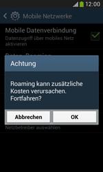 Samsung Galaxy Grand Neo - Ausland - Im Ausland surfen – Datenroaming - 9 / 12