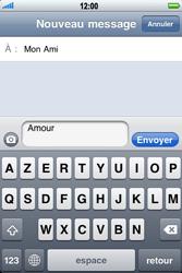 Apple iPhone 3G - MMS - envoi d'images - Étape 6