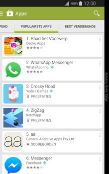 Samsung Galaxy Note Edge - apps - app store gebruiken - stap 8