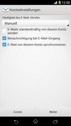 Sony Xperia Z1 - E-Mail - Konto einrichten - 17 / 21