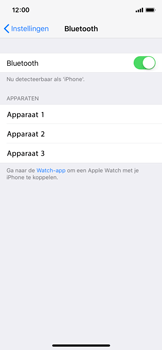 Apple iPhone X - bluetooth - aanzetten - stap 5