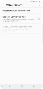 Samsung Galaxy S9 Plus - Software - Installieren von Software-Updates - Schritt 6