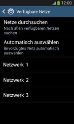 Samsung Galaxy Ace III - Netzwerk - Manuelle Netzwerkwahl - Schritt 8