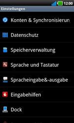 LG Optimus Black - Fehlerbehebung - Handy zurücksetzen - 6 / 10