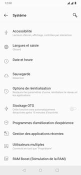 OnePlus 7 - Aller plus loin - Restaurer les paramètres d'usines - Étape 5