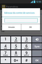 LG E610 Optimus L5 - SMS - configuration manuelle - Étape 5