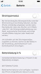 Apple iPhone SE - Gerät - Batterielebensdauer/Energiesparmodus - 4 / 5