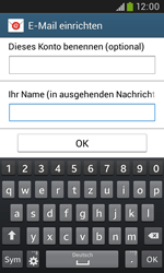 Samsung I9060 Galaxy Grand Neo - E-Mail - Konto einrichten - Schritt 19