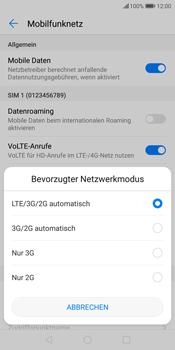 Huawei P Smart - Netzwerk - Netzwerkeinstellungen ändern - 7 / 8