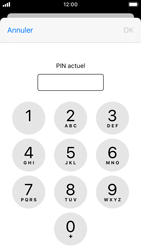 Apple iPhone SE - iOS 13 - Sécurité - modifier SIM PIN - Étape 6