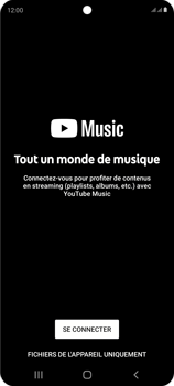 Samsung Galaxy S20 FE - Photos, vidéos, musique - Ecouter de la musique - Étape 4
