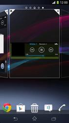 Sony Xperia Z1 Compact - Operazioni iniziali - Installazione di widget e applicazioni nella schermata iniziale - Fase 6