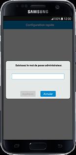 Alcatel MiFi Y900 - Prise en main - Connection du modem à votre smartphone ou tablette - Étape 10