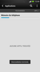 HTC One - Applications - Comment désinstaller une application - Étape 8