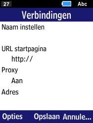 Samsung B550H Xcover 550 - Internet - Handmatig instellen - Stap 11