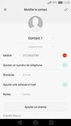 Huawei Nova - Contact, Appels, SMS/MMS - Ajouter un contact - Étape 10