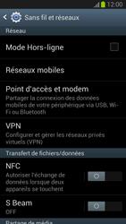 Samsung Galaxy S III - Internet et roaming de données - Configuration manuelle - Étape 5
