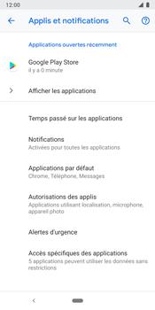 Google Pixel 3 - Applications - Supprimer une application - Étape 5