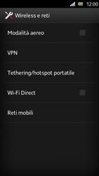 Sony Xperia U - Internet e roaming dati - Disattivazione del roaming dati - Fase 5