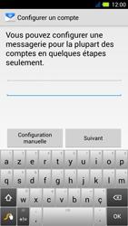 Acer Liquid E3 - E-mail - Configuration manuelle - Étape 6