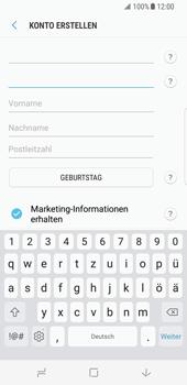 Samsung Galaxy S8 - Datenschutz und Sicherheit - Samsung einrichten - 10 / 18