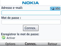Nokia Asha 201 - E-mail - Configuration manuelle - Étape 6