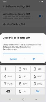Samsung Galaxy A70 - Sécurité - modifier SIM PIN - Étape 11