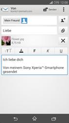 Sony Xperia T3 - E-Mail - E-Mail versenden - 1 / 1