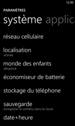 Nokia Lumia 820 / Lumia 920 - Réseau - Sélection manuelle du réseau - Étape 4