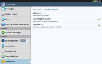 Samsung P5220 Galaxy Tab 3 10-1 LTE - Software updaten - Update installeren - Stap 6