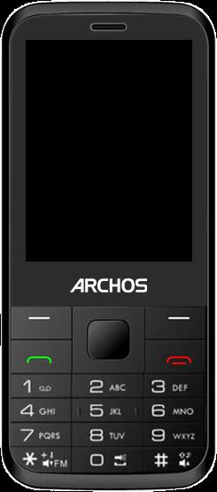 Archos F28 - Premiers pas - Découvrir les touches principales - Étape 5