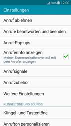 Samsung A300FU Galaxy A3 - Anrufe - Rufumleitungen setzen und löschen - Schritt 6