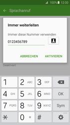 Samsung G920F Galaxy S6 - Anrufe - Rufumleitungen setzen und löschen - Schritt 11
