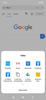 Xiaomi RedMi Note 7 - Internet und Datenroaming - Verwenden des Internets - Schritt 19