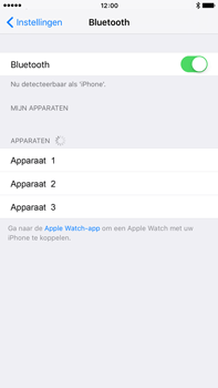 Apple iPhone 6 Plus (iOS 9) - bluetooth - aanzetten - stap 5