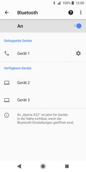 Sony Xperia XZ2 - Bluetooth - Geräte koppeln - Schritt 11