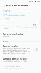 Samsung Galaxy S6 Edge - Android Nougat - Internet et roaming de données - Comment vérifier que la connexion des données est activée - Étape 6