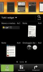 HTC One SV - Operazioni iniziali - Installazione di widget e applicazioni nella schermata iniziale - Fase 4