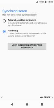 Sony Xperia XZ2 - E-mail - handmatig instellen - Stap 20