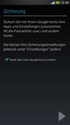 HTC Desire 601 - Apps - Konto anlegen und einrichten - 22 / 24