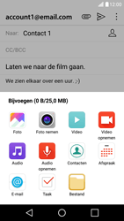 LG LG X Screen - e-mail - hoe te versturen - stap 11