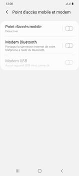 Samsung Galaxy S20 5G - WiFi - Comment activer un point d'accès WiFi - Étape 6