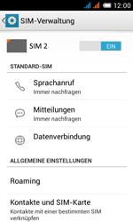 Alcatel Pop C3 - Ausland - Im Ausland surfen – Datenroaming - 7 / 15